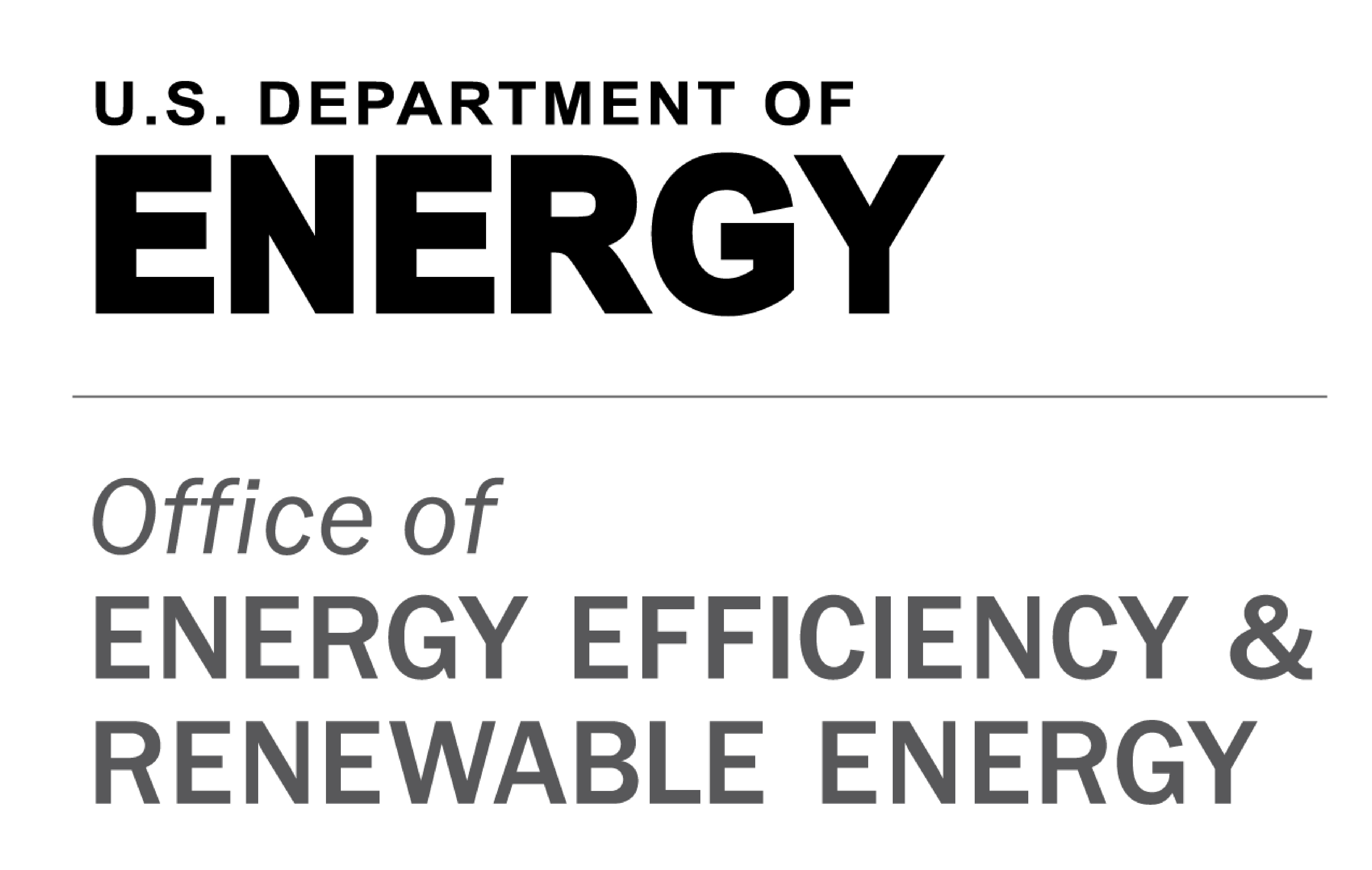 US Department of Energy - Office of Energy Efficiency and Renewable Energy logo